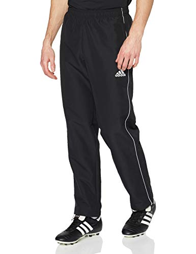Adidas CORE18 PRE PNT Sport trousers, Hombre, Black/ White, 2XL