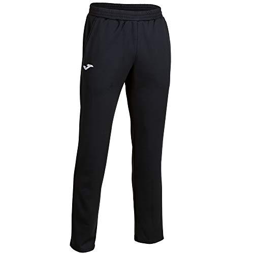 Joma Cleo II Pantalon Largo Deportivo, Hombre, Negro, XL