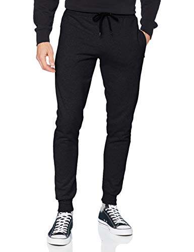 FM London Hyfresh Slim Fit, Pantalones deportivos Hombre, Marfil (Charcoal 22), Large